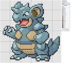 31 - Nidoqueen by Makibird-Stitching.deviantart.com on @deviantART