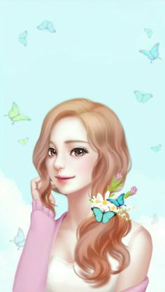 Image discovered by 𝐆𝐄𝐘𝐀 𝐒𝐇𝐕𝐄𝐂𝐎𝐕𝐀 👣. Find images and videos about girl, fashion and cute on We Heart It - the app to get lost in what you love. Love Cartoon Couple, Cute Cartoon Girl, Anime Love Couple, Anime Korea, Cute Kawaii Girl, Pelo Anime, Lovely Girl Image, Cute Girl Drawing, Cute Girl Wallpaper