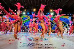 Grupo Mascarada Carnaval: El Carnaval de Tenerife se promociona en uno de lo...