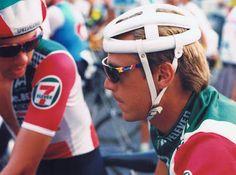 CYCLING ART BLOG: Friday File: Steve Bauer, Greg LeMond & Back to France 1984 Olympics, Cycling Glasses, 7 Eleven, Team 7, Cycling Art, Triathlon, Football Helmets, Racing, Bike