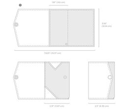 Slim Leather Wallet | Evernote Market