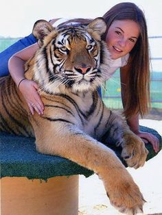 Girl and The Tiger :)