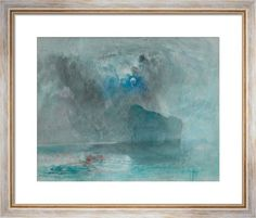 On Lake Lucerne looking towards Fluelen by Joseph Mallord William Turner - art print from King & McGaw
