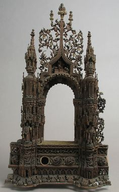 Shrine  Date: 15th century Geography: Made in, the Veneto, Italy Culture: Italian Medium: Wood, metal, glass mirrors, gilding