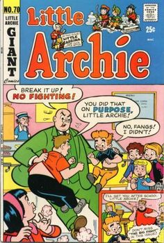 A cover gallery for the comic book Little Archie Archie Betty And Veronica, Archie Comics Riverdale, Archie Comic Books, Little Mac, Vintage Comics, Vintage Books, Comic Panels, Old Cartoons, American Comics