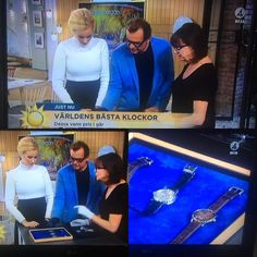 H. Moser & Cie LIVE on Swedish Channel 4's Morning Show with Britta Rosander after winning an award at 0024 European Watch Of The Year 2015.  #moserwatches #moser #hmoser @moserwatches #luxury #perpetualcalendar #style#luxurywatches #instawatch #dailywatch#tourbillon #veryrare #timepiece#watchuseek #watches #swisswatch#watchaddict #wristshots#watchgeek #watchoftheday #watchdaily #luxurywatch#dailywatch #horophile #menswatches#collecting #montres #wristshots #fancy #Instantaneous #watchporn…