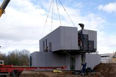 CG Architectes | Modular houses | KOMA MODULAR CONSTRUCTION