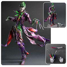 Batman DC Comics The Joker Play Arts Kai Variant Figure