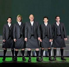 Celtic Thunder - these boys do kilts well :)