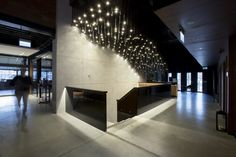ES-SYSTEM | Projects - Stixx Bar & Grill Bar Grill, Light Architecture, Custom Lighting, Light Fixtures, Divider, Projects, Home Decor, Log Projects, Blue Prints