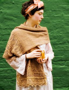 Ravelry: Oleander pattern by Loop London.  What a beautiful wrap.