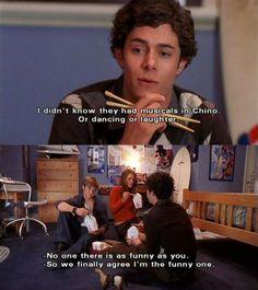 The OC Moment Seth, Ryan, & Marisa