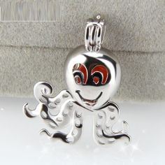 S925 Sterling Sliver Cage Pendant Setting for Akoya Pearl & Accessories C3 | eBay