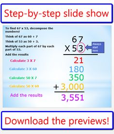 math worksheet : 1000 images about multiplication on pinterest  multiplication  : Partial Product Multiplication Worksheet
