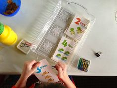 Montessori Inspired Counting Ideas for kids