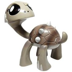 """MONO Edition Gamerita Designer Vinyl Figure by Joe Ledbetter from the 'Kaiju For Grown Ups Collection' by Wonderwall Toys. $49.95. Edition: 100. Height: 6"""". Designer: Joe Ledbetter. Medium: Vinyl. This is the MONO Edition Gamerita Designer Vinyl Figure by Joe Ledbetter and produced by Wonderwall Toys for the 'Kaiju For Grown Ups Collection.' Stands 6"""" tall and is limited to only 100 worldwide."""