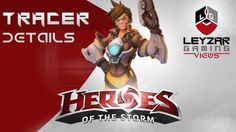 Heroes of the Storm (HotS News) - Tracer Details (Ranged Assassin) Heroes Of The Storm, Assassin, Overwatch, Gaming, Detail, News, Hot, Movie Posters, Game