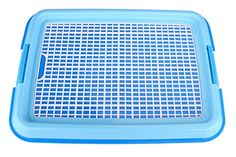 Pet Dog Cat Puppy Elegant Blue Training  Pee Pad w Plastic Litter Holder Tray ** Click on the image for additional details.(This is an Amazon affiliate link and I receive a commission for the sales)