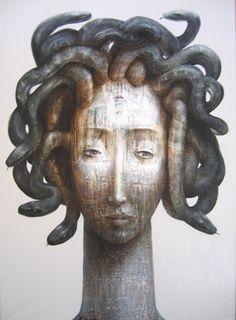 'Meduse' by French artist Fabien Delaube (b.1973). via Celine.Excoffon on flickr. Source: the artist's site
