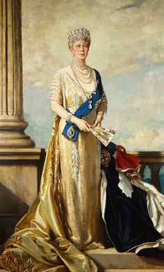 Mary of Teck, Queen of England. Wife of George V but was originally betrothed to his brother, Albert. Mother to Edward VIII & George VI and grandmother to Elizabeth II. Lived during the reign of 6 British Monarchs. English Royal Family, British Royal Families, Royal Life, Royal House, Queen Mary, King Queen, Princess Mary, Reine Victoria, Munier