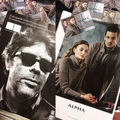 A new Fall/Winter advertisement campaign on IL magazine!    #AlphaStudio #fw2015 #press #adv #campaign #shooting #magazine #ilsole24ore #outfit #style #menstyle #menswear #womenstyle #womenswear #fashion #stylishoutfit #glamour #florence #knitwear #instafashion