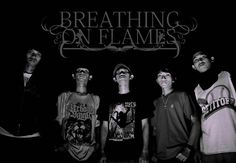 Breathing on Flames (Metalcore Band) EOS 550D