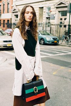100 Ways to Wear Gucci Runway Fashion, Fashion Outfits, Womens Fashion, Fashion Trends, Street Fashion, Vogue Fashion, Street Chic, Casual Outfits, Gucci Gang