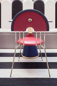 Семейный парк Ханчжоу-Нойбио Interior Concept, Interior Design, Single Chair, Color Harmony, Concept Board, Colorful Furniture, Creative Decor, E Design, Armchair
