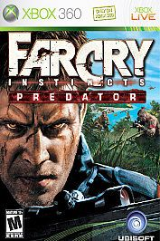 Far Cry Instincts Predator (Xbox 360, 2006) Complete & FREE USA Shipping #FarCry #videogames #xbox360