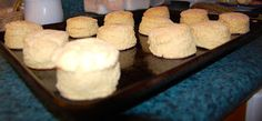 Cheater Tea Biscuits, made with pancake mix