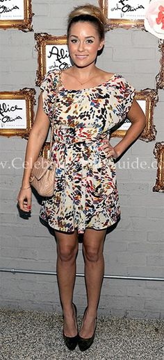 Lauren Conrad attended the Alice + Olivia Shoe Launch Party last night (August 10) in West Hollywood.