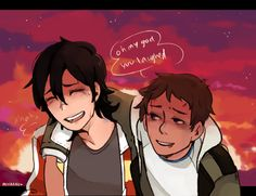 """if u laugh then i win"" lance tells jokes when badly injured bc he doesnt wnt ppl 2 worry abt him :_("