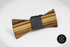 #Custom #Wedding  Wooden Bow Ties by Two Guys Bowties | Hatch.co