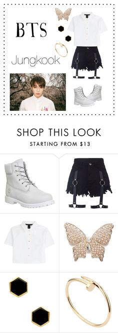 """""""~Jungkook :: I Need U~"""" by taeangel ❤ liked on Polyvore featuring Timberland, Marc by Marc Jacobs, Napier, Mallary Marks, Cartier, kpop, bts, bangtan and jungkook"""