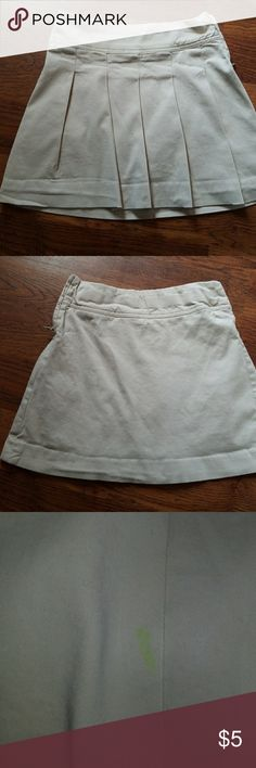 Little girl size 8 uniform skirt Uniform skirt in good condition, does have a small lime green maker on the front. Children's Place Bottoms Skirts