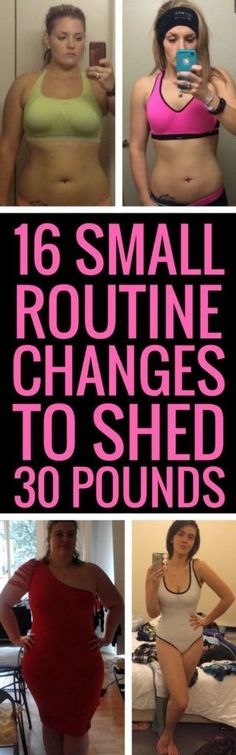 16 Tiny Changes To Your Daily Routine To Lose Weight Faster - #weight #fitness #fat #beauty