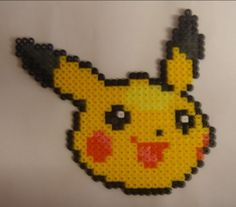 pikachu perler bead - Пошук Google