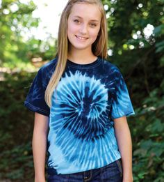 Colortone T1001 - Multi Color Tie Dye Tee  #colortone #tiedyetee