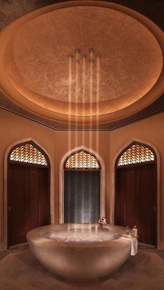 Atlantis, The Palm - Dubai, Showcase magazine - Event Paradise. Atlantis, The Palm is the first entertainmen. Luxury Life, Luxury Living, Luxury Homes, Dream Bathrooms, Beautiful Bathrooms, Luxury Bathrooms, Spas, Deco Spa, Spa Luxe