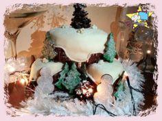 Lezioni+di+Cake+Design+-+Torte+decorate+per+le+feste+natalizie