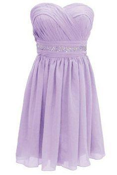 Lavender dress. I love this color!
