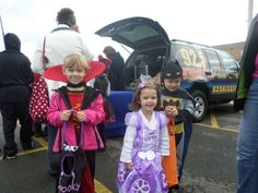 Trunk or treat a few weekends ago
