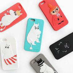 Genuine Moomin Silicon Case iPhone 6 Case Finland Character 6 Type Made in Korea #Moomin
