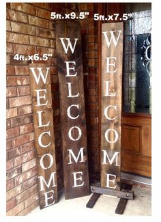 WELCOME SIGN RUSTIC Wood welcome sign front door welcome sign vertical welcome sign welcome sign porch large welcome sign home decor Rustic Wood Signs Decor Door Front Home Large Porch Rustic Sign Vertical Wood Welcome Signs Front Door, Wooden Welcome Signs, Front Porch Signs, Rustic Wood Signs, Front Door Decor, Wooden Signs, Front Porches, Front Porch Decorations, Outdoor Welcome Sign