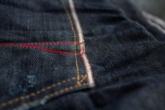 My new Red Seal selvedge denim  Handcrafted by Replay
