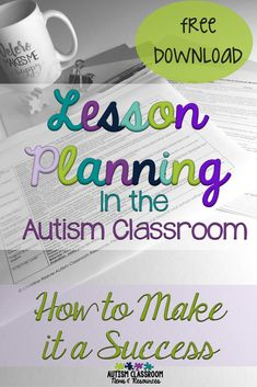 I think we can all agree that lesson planning in the autism or special education classroom is complicated. Here are some tips of why it is important and how to make it easier. resources Lesson Planning in the Autism Classroom: How to Make it a Success Autism Teaching, Autism Education, Preschool Special Education, Autism Classroom, Classroom Resources, Classroom Ideas, Autism Resources, Education System, Health Education