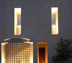 Nikolas Dorizas Architect Tel: +30.210.4514048 Address: 36 Akti Themistokleous – Marina Zeas, Piraeus 18537, Κατοικία στην Καστέλα σε τρεις δρόμους με εξωτερική πισίνα - Residence in Kastela, facing three streets, for a family of three, with an external pool Wall Lights, Mirror, Lighting, Furniture, Home Decor, Appliques, Decoration Home, Room Decor, Mirrors