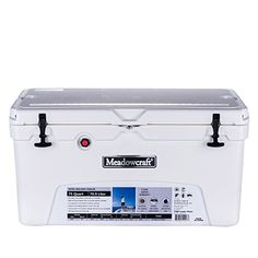 Meadowcraft Cooler White 75 quart ** Be sure to check out this awesome product. This is an Amazon Affiliate links.
