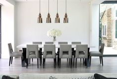 What do you like about this modern dining room design?  Coastal Virginia Magazine's Best Kitchen & Bathroom Remodeler#dogoodwork #kitchendesign #hgtv #kitchen #bathroom #homeimprovement #home #remodeling #remodel