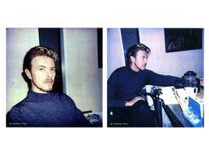 Photos of David Bowie taken by Stephen Finer
